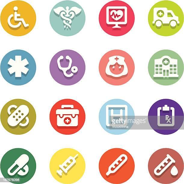 ilustraciones, imágenes clip art, dibujos animados e iconos de stock de & medicine_motley series_15 atención médica - enfermera