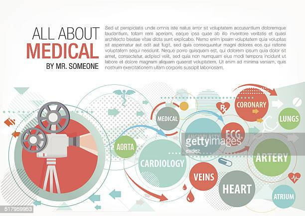healthcare projection - coronary artery stock illustrations, clip art, cartoons, & icons