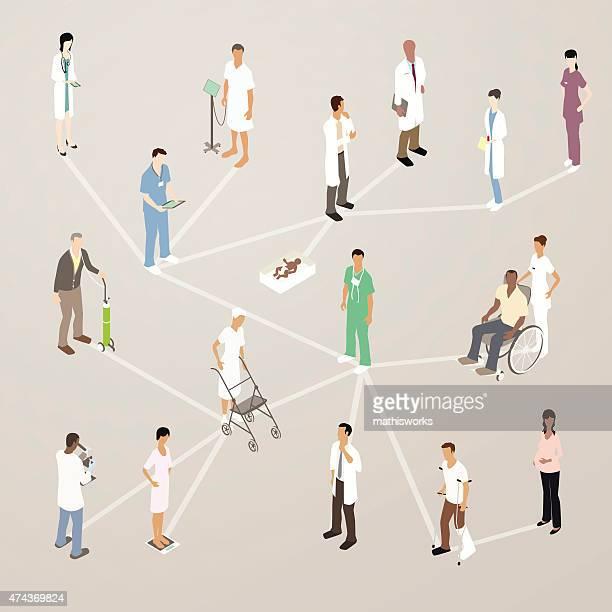 ilustrações de stock, clip art, desenhos animados e ícones de ilustração de meios de comunicação social de saúde - mathisworks