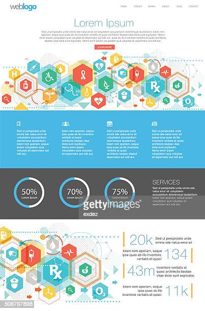 Healthcare Web design