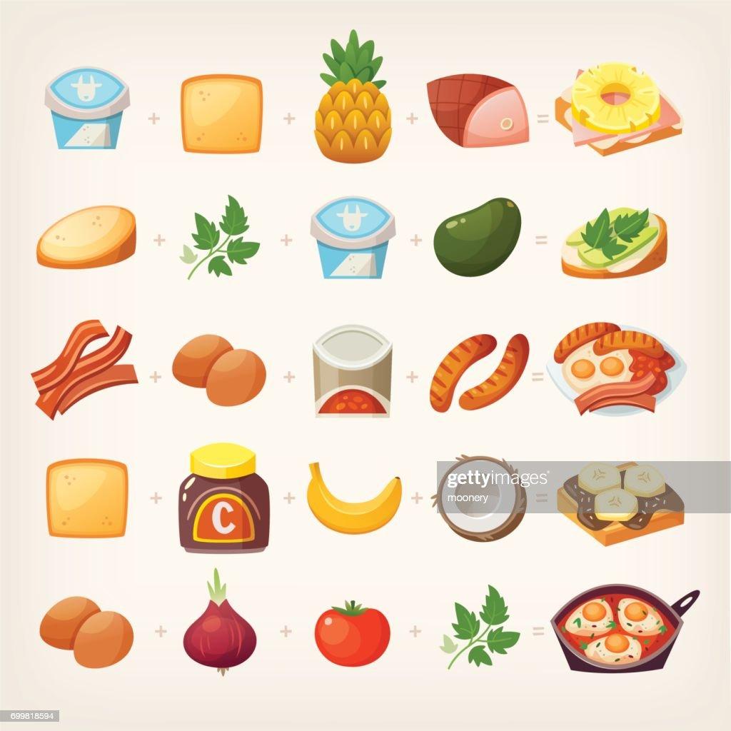 Healthy breakfast mix