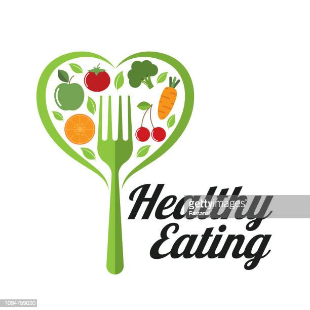 healthy eating - healthy eating stock illustrations