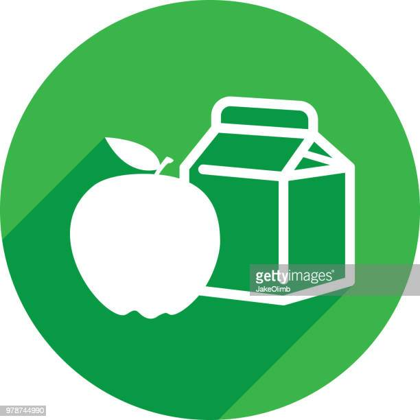 Healthy Foods Icon Silhouette