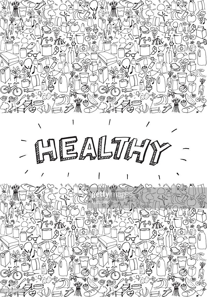 Healthy life poster