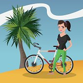 Healthy lifestyle design  , vecto