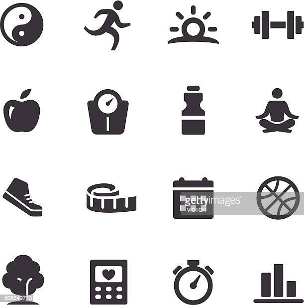 Healthy Lifestyle Icons - Acme Series