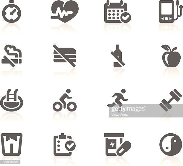 healthy lifestyle_gracy series_18 - barbell stock illustrations, clip art, cartoons, & icons