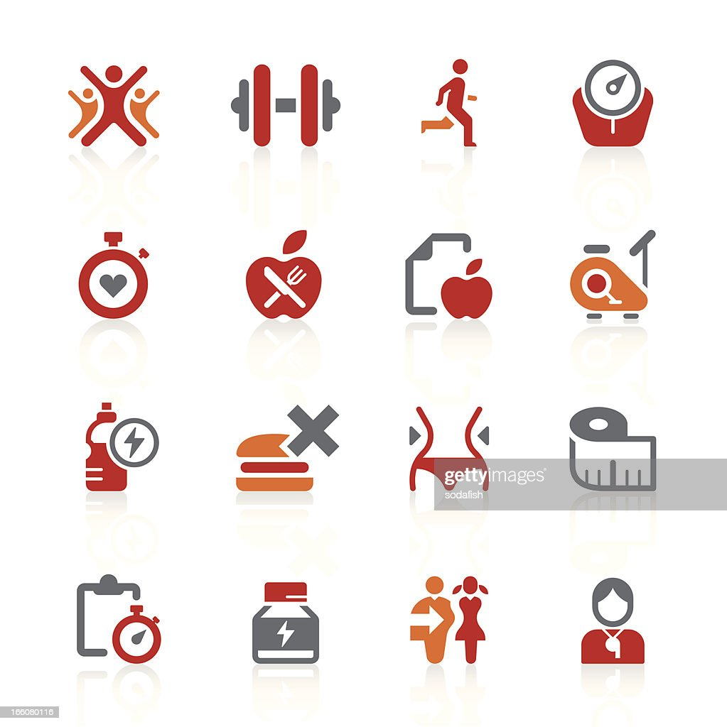 Healthy living icons | alto series : stock illustration