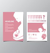 Healthy Pregnant women infographic