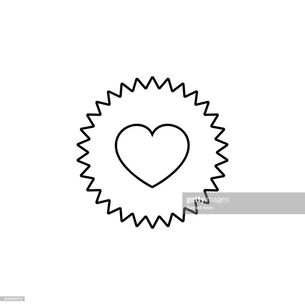 heart appeal icon. Love and Valentine's Day element icon. Premium quality graphic design. Signs, outline symbols collection icon for websites, web design, mobile app