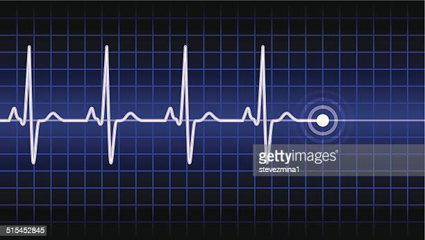 heart beat - frequency stock illustrations