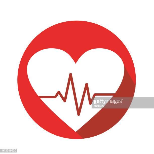 心臓のケア - heart shape点のイラスト素材/クリップアート素材/マンガ素材/アイコン素材