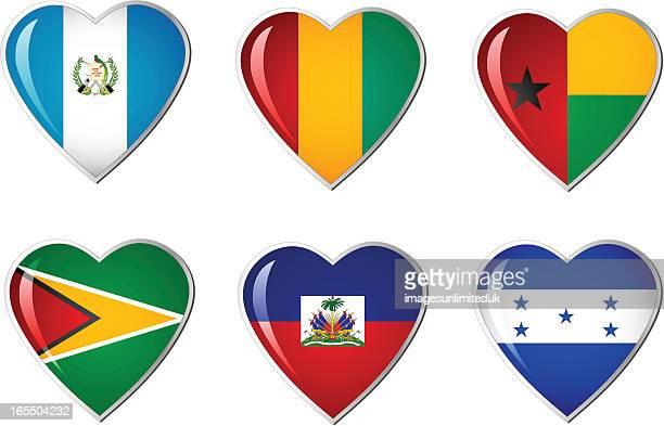 Herz Flagge Kollektion