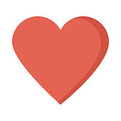heart Flat Vector Icon