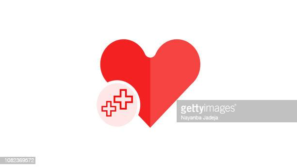 ilustraciones, imágenes clip art, dibujos animados e iconos de stock de icono del corazón salud - cardiólogo