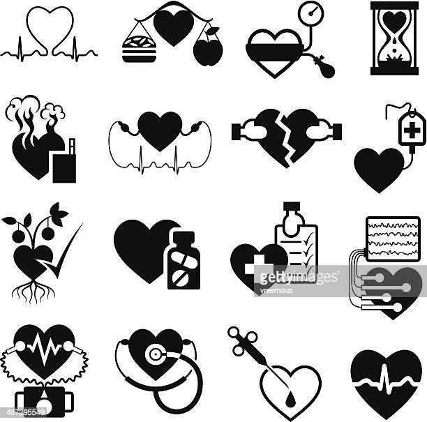 Coração saúde símbolos