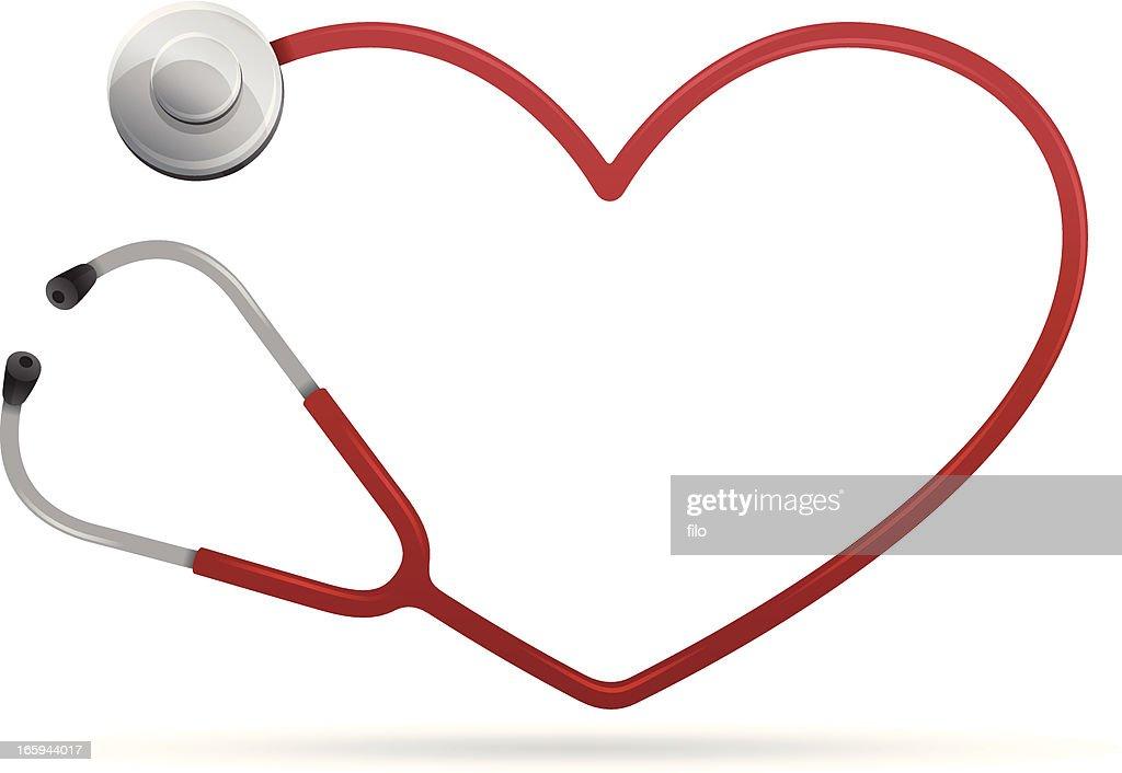 Coração de saúde : Ilustração