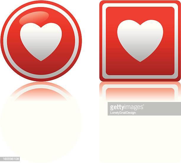 ハートのアイコン - heart shape点のイラスト素材/クリップアート素材/マンガ素材/アイコン素材