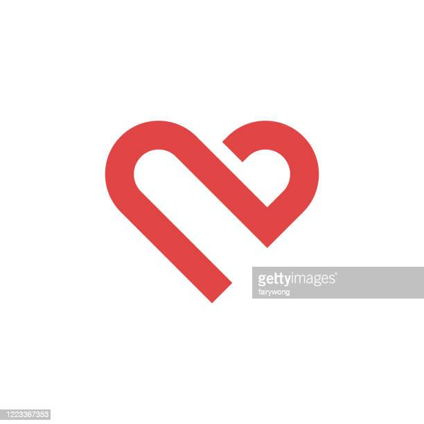 heart icon,love concept - healthy lifestyle stock illustrations
