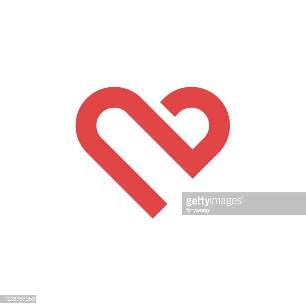heart icon,love concept - logo stock illustrations