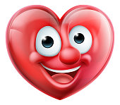 Heart Man Cartoon Character