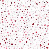 Heart seamless background