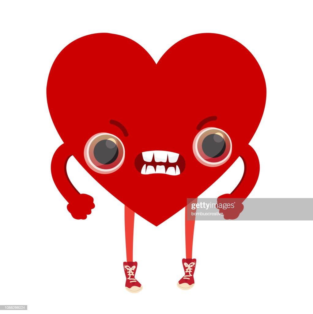 Emoticones De Forme De Coeur Illustration Getty Images