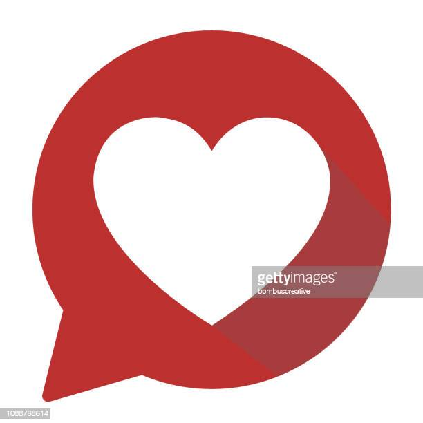 heart shape icon - heart shape stock illustrations