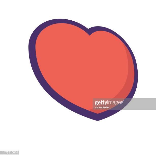 heart shape icon - boyfriend stock illustrations, clip art, cartoons, & icons