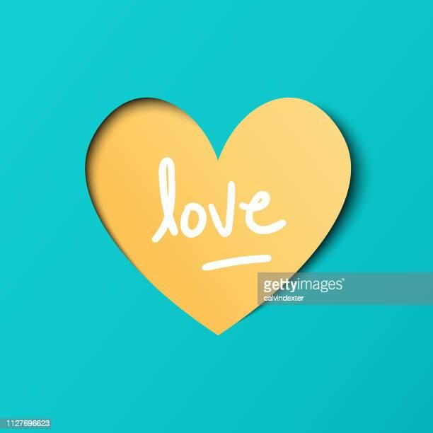 heart shape paper art valentines day design - boyfriend stock illustrations, clip art, cartoons, & icons