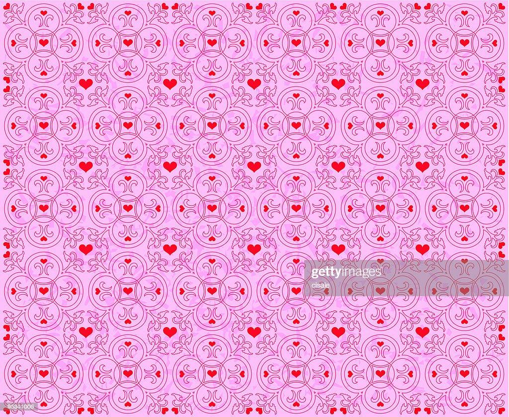 Heart Shape Pattern love illustration