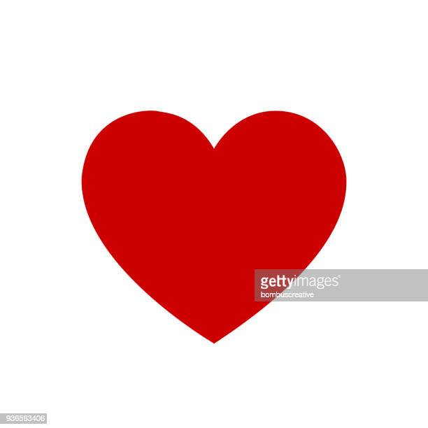 heart shape - heart symbol stock illustrations