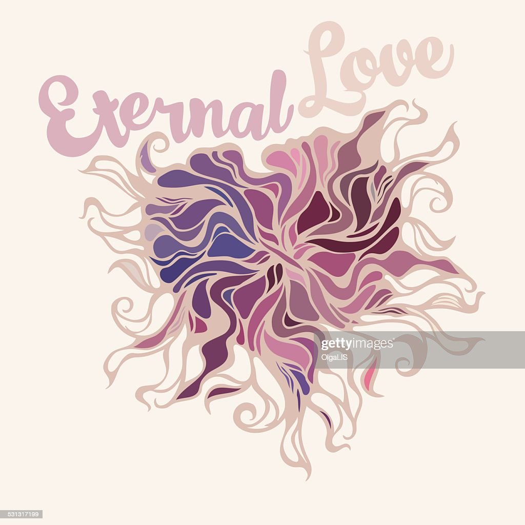 Heart Symbol Of Eternal Love Vector Art Getty Images