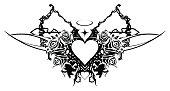 Heart Valentine Stencil
