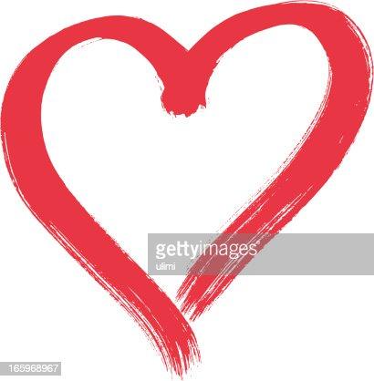 Heart Shaped Paint Brush
