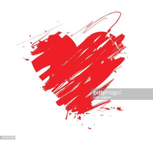 stockillustraties, clipart, cartoons en iconen met heart - heart shape