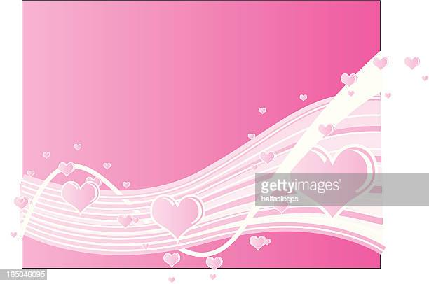 heart wave - animal heart stock illustrations, clip art, cartoons, & icons
