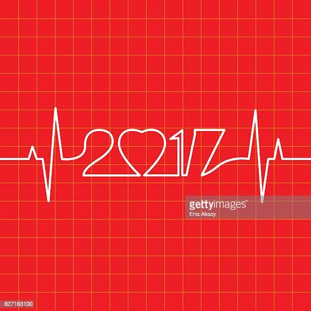 ilustraciones, imágenes clip art, dibujos animados e iconos de stock de heartbeat make 2017 - cardiólogo