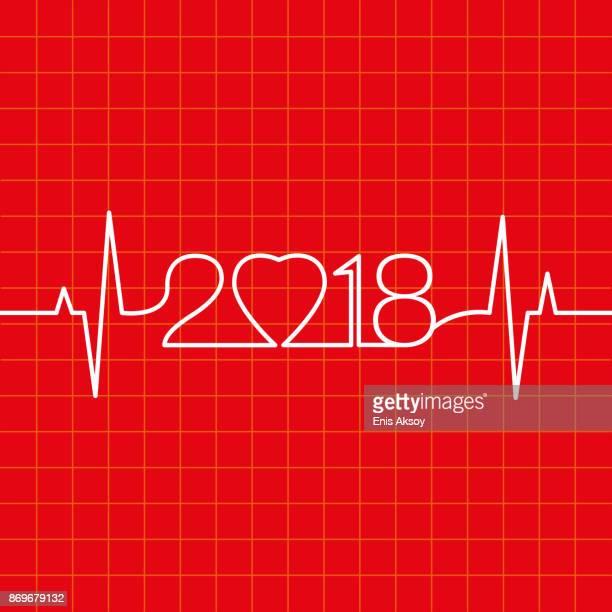 ilustraciones, imágenes clip art, dibujos animados e iconos de stock de latido del corazón hacer 2018 - cardiólogo