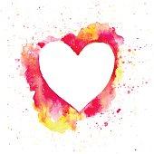 HeartPinkYellow