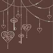 Hearts and keys