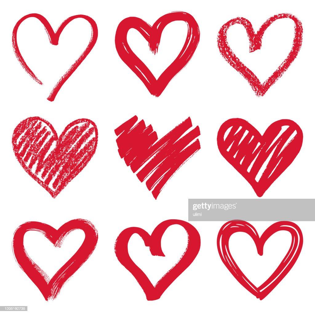 Herzen : Stock-Illustration