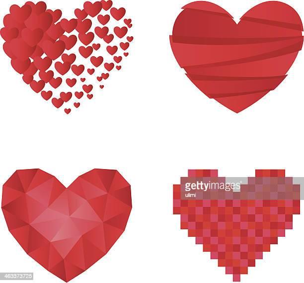 30 Meilleurs Pixel Love Illustrations Cliparts Dessins