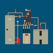 Heat pump, heating system