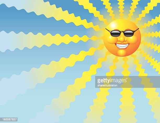 heat wave - fahrenheit stock illustrations