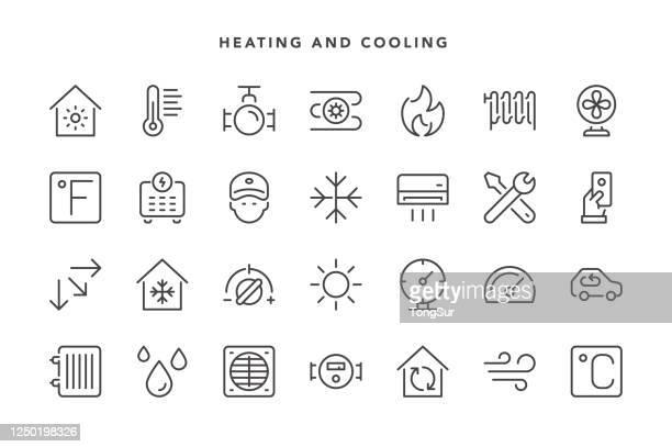 冷暖房アイコン - celsius点のイラスト素材/クリップアート素材/マンガ素材/アイコン素材