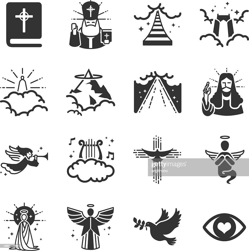 Heaven icons