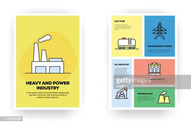 ilustrações, clipart, desenhos animados e ícones de infográfico relacionado da indústria pesada e do poder - fábrica petroquímica
