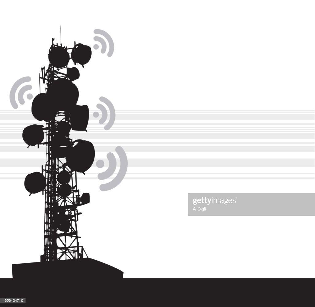 Heavy Communication Tower