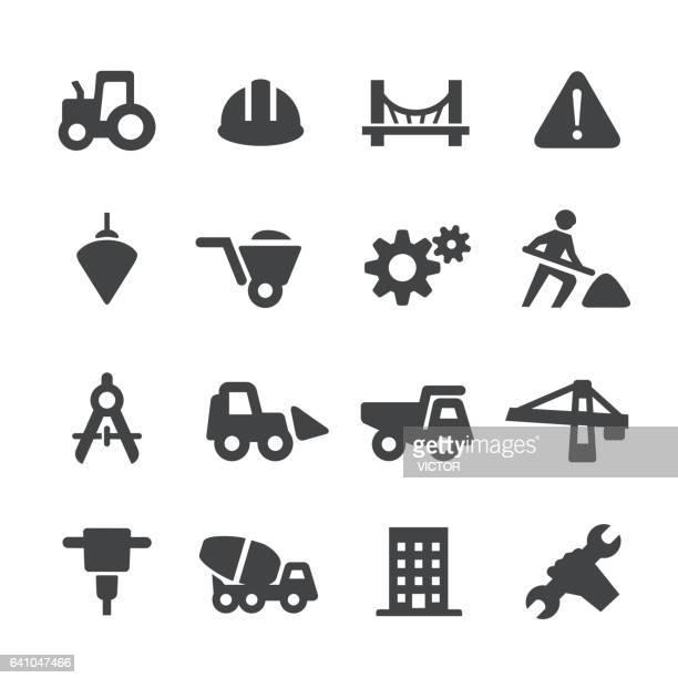 Schwere Konstruktion Icons - Acme-Serie